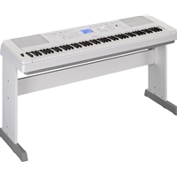 Yamaha DGX-660 Digital Piano, White