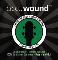 Accuwound Bass Guitar Strings Long Scale Light Guage