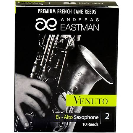 Eastman Venuto Eb Alto Saxophone Reeds Strength 2, Box of 10